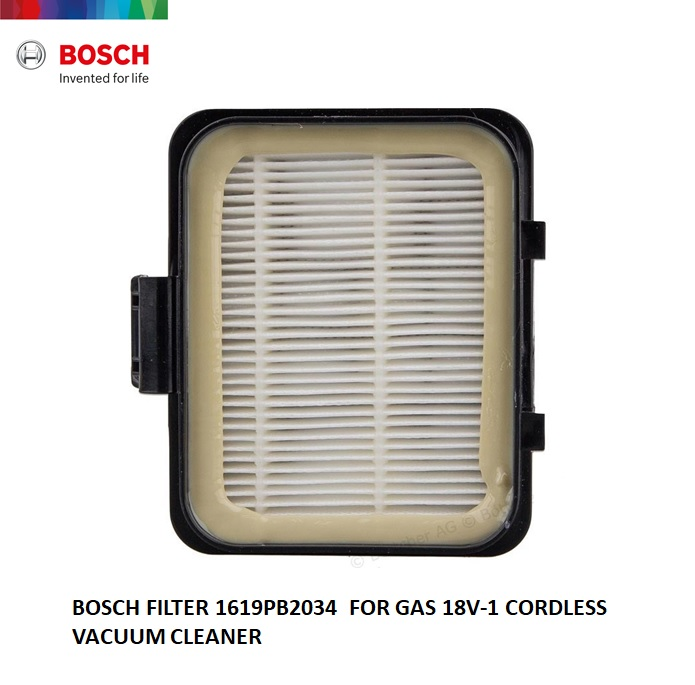 BOSCH FILTER For GAS18V-1 CORDLESS VACUUM 1619PB2034