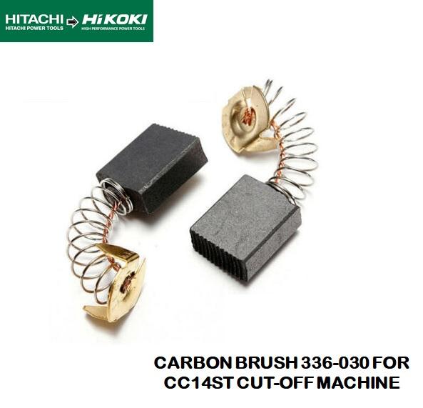 HITACHI / HIKOKI ORIGINAL CARBON BRUSH 336-030 FOR CC 14ST CUT-OFF MACHINE
