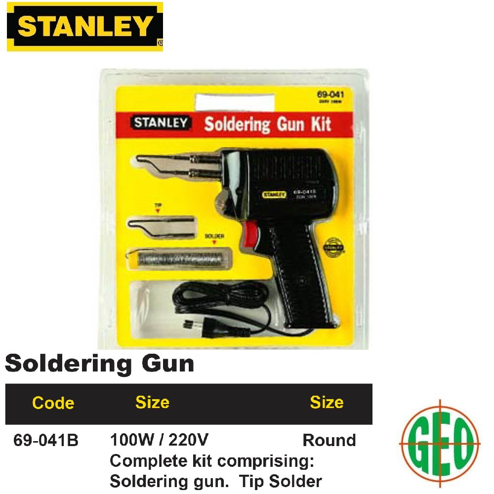 STANLEY 69041B SOLDERING GUN 100W/220V ROUND