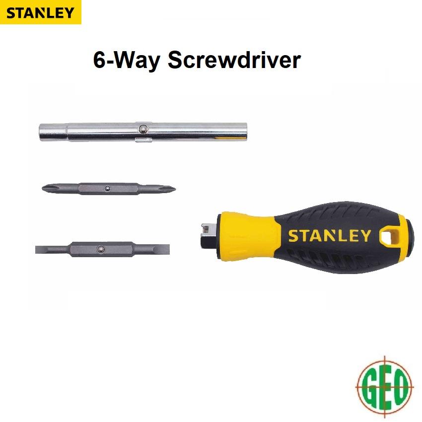 STANLEY 68-012 6-Way Screwdriver