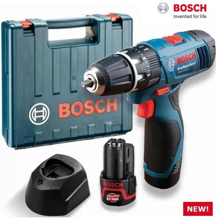 BOSCH COMBO DEAL GSR 120 CORDLESS SCREWDRIVER/DRILL WITH GLM30 DISTANCE METER
